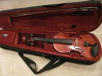 VERY NICE PRANTILE STUDENT VIOLIN. IN EXCELLENT