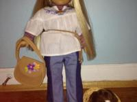 2 gently secondhand American Gal Dolls. Julie and