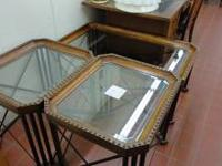 Pre-owned coffee and end table set for only 199.00 for