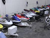 We have more than 40 pre-owned jet skis for sale. All