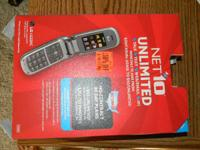 Hello  I have a pre-paid cell phone for sale. It is new