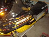 PRE-SEASON SNOWMOBILE SALE AS LOW AS $650.00 2001 MXZ