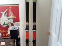 I'm offering my PRE 190's Skis with Salomon bindings.