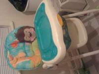 I have a precious planet high chair for 30$, its in