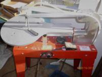 Bought heavy duty precision Scroll Saw for husband,