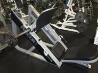 1) Precor Angled Leg Press When calling or emailing