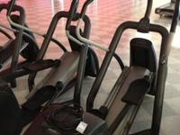 The precor is a super efficient, low impact workout