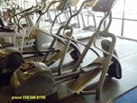 This is a reconditioned Precor EFX546 See and try this