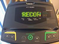 Precor EFX 5.21i  This elliptical is few years old but