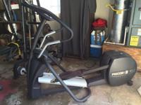 Selling a Precor USA 5.23 EFX elliptical machine.
