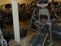 PRECOR  EXPERIENCE 546i ELLIPTICAL WITH CARDIO THEATRE