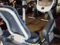 Precor RBK 815. Recumbent Bike. The RBK 815 recumbent