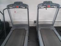 1 precor Treadmills commercial grade does not fold up