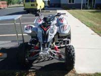 2005 Polaris Predator 4 wheeler. Excellent condition.