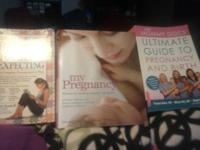 I have 3 pregnancy,baby books in almost new condtion