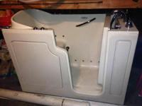 Obo 6 year old walk in bathtub from premier care. Great
