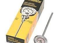 INCLUDES:. 1 Premier Precision Dial Thermometer With 6""