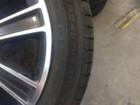 I have 4 mustang gt premium rims and tires that came