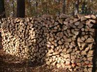 PREMIUM SEASONED OAK AND/OR HICKORY FIREWOOD. OUR WOOD