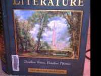 Im selling,prentice hall literature book. The,british