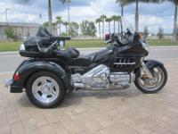 2006 Honda Goldwing Motor Trike Adventure trike with