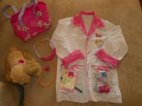 1. Barbie Interactive doggie Vet Dress Up: $25