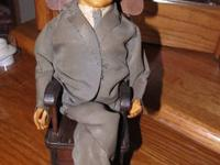 Here is a Vintage JFK John F. Kennedy Wind Up Rocking