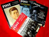 I have a large collection of President Kennedy