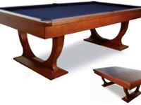 Ashbury Pool Table This uniquely styled solid German