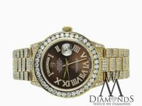 Diamond Presidential Rolex This watch is in like new