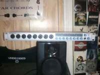 I have a Presonus Firestudio Audio Interface for