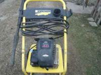 I have a Kracher pressure washer with a 4.0hp Briggs