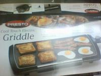 Brand new Griddle. Presto brand. Bought it during 2014