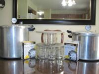I have two Presto Pressure Canners for sale. They are