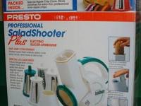 Complete PRESTO Professional Salad Shooter, model