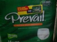 For sale are brand new packages of Prevail Extra Adult