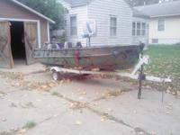 14' Cadillac Fishing/Duck boat Suzuki 15hp outboard