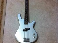 Ibanez Bass Guitar with strap and cables ($150) Hartke
