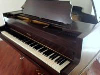 Kohler & Chase 1926 Walnut Baby Grand Piano - dates