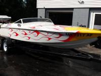 1983 Sutphen Super Pacer - 20'. boat is rock strong,
