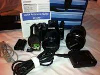 PRICE LOWERED*** Professional DSLR Olympus E-510 - $750