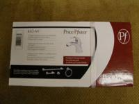 "Price Pfister, 8A2-VC, 4"" single control lavatory"