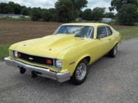 1974 Chevy Nova. It is in great condition with a 305