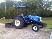 2009 Boxblade New Holland TN60A . 1700 hrs, raedy to
