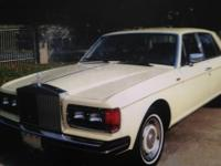 Price Reduced - 1981 Rolls Royce Silver Spirit -