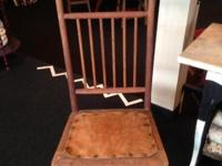 This rocker is tough and solid. There is animal fur on