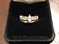 RATE DECREASED !!! Beautiful Engagement Ring & &
