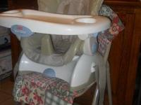 Price Reduced!  Fisher Price Space Saver High Chair