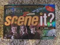 Like New!! Harry Potter 2nd Edition Scene-It DVD /