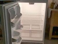 Frigidaire refrigerator for sale, price $245 (new costs